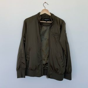 Olive Members Only jacket